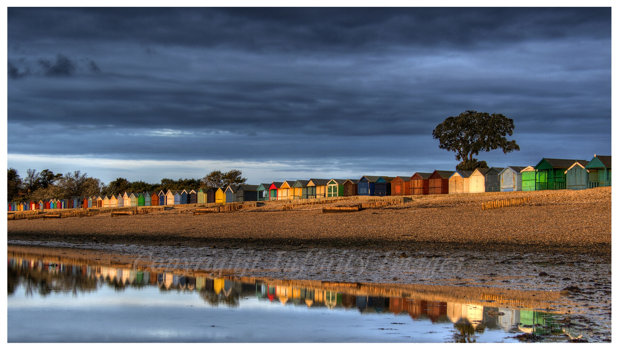 Beach Huts Summer